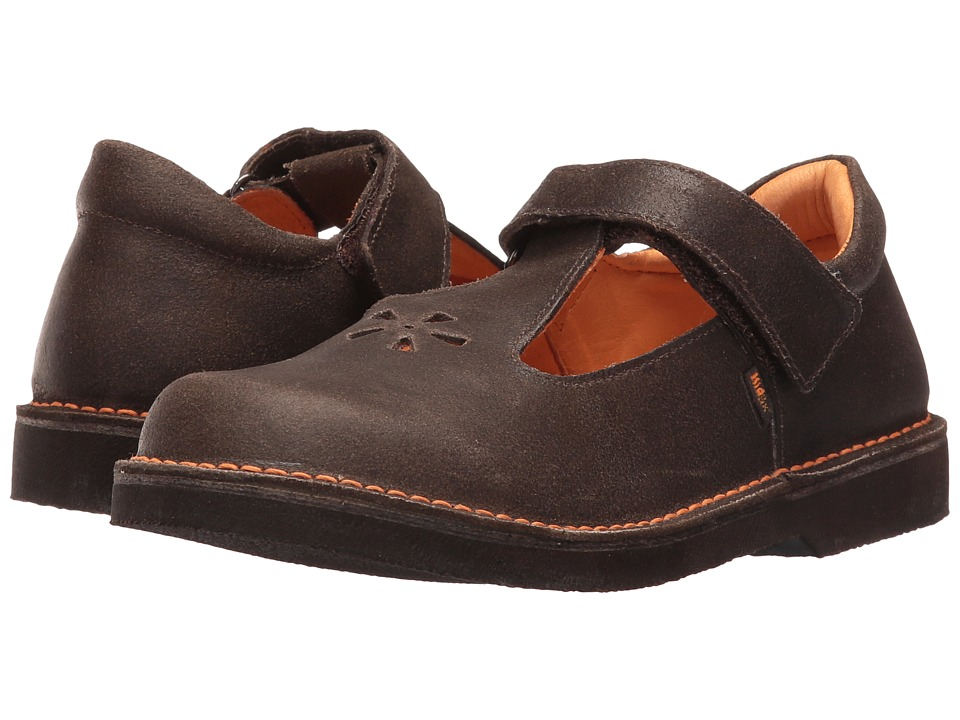 Kid Express - Shantel (Toddler/Little Kid/Big Kid) (Dark Brown Distressed) Girl's Shoes