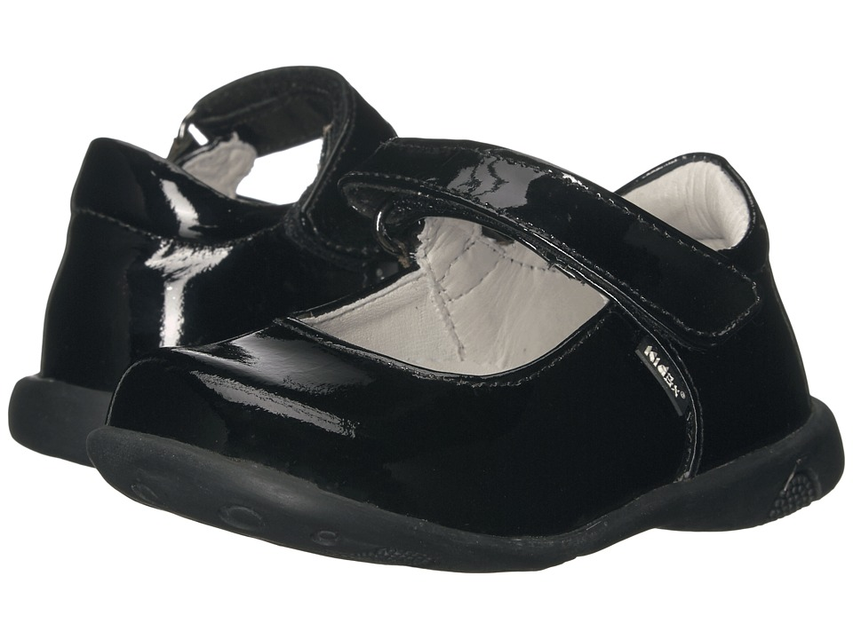 Kid Express - Bondi (Toddler/Little Kid/Big Kid) (Black Patent) Girl's Shoes