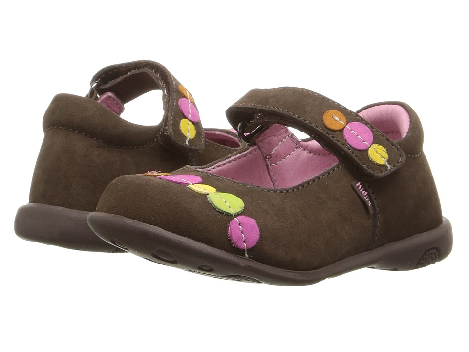 Kid Express - Kelis (Toddler/Little Kid/Big Kid) (Dark Brown Nubuck) Girl's Shoes