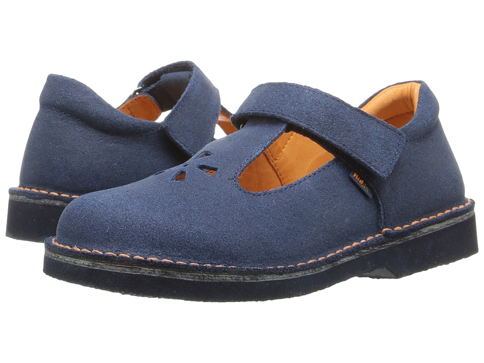 Kid Express - Shantel (Toddler/Little Kid/Big Kid) (Navy Distressed) Girl's Shoes