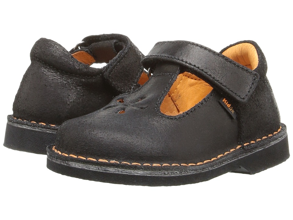 Kid Express - Shantel (Toddler/Little Kid/Big Kid) (Black Distressed) Girl's Shoes