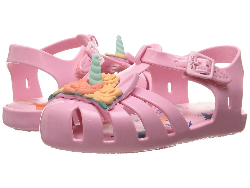 Mini Melissa - Mini Aranha + Fabula (Toddler/Little Kid) (Baby Pink) Girl's Shoes