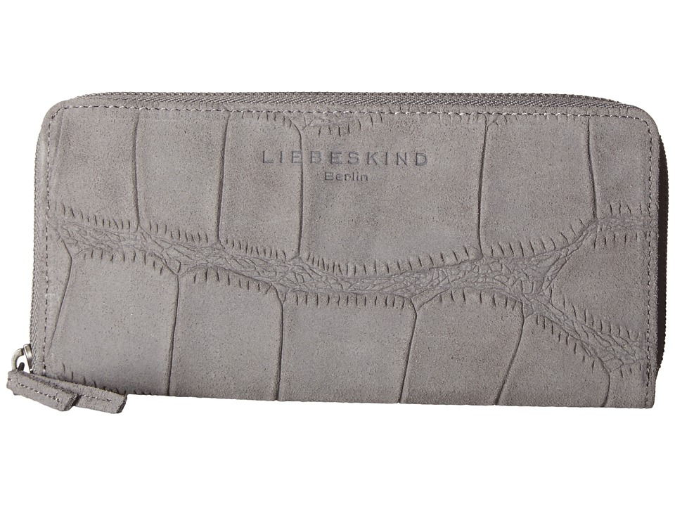Liebeskind - Sally R (Crane Grey) Wallet Handbags