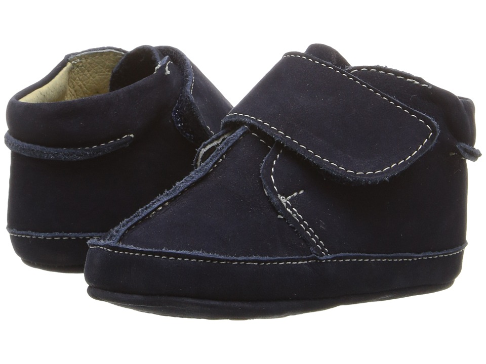 Kid Express - Tommie (Infant/Toddler) (Navy Nubuck) Boy's Shoes