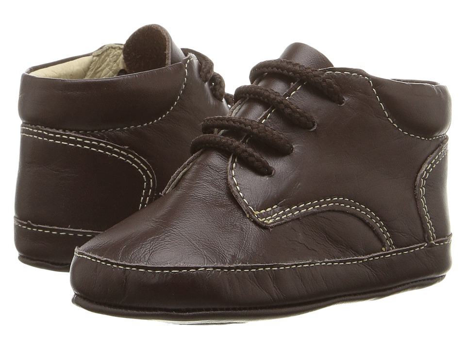Kid Express - Roz (Infant/Toddler) (Dark Brown Leather) Boy's Shoes