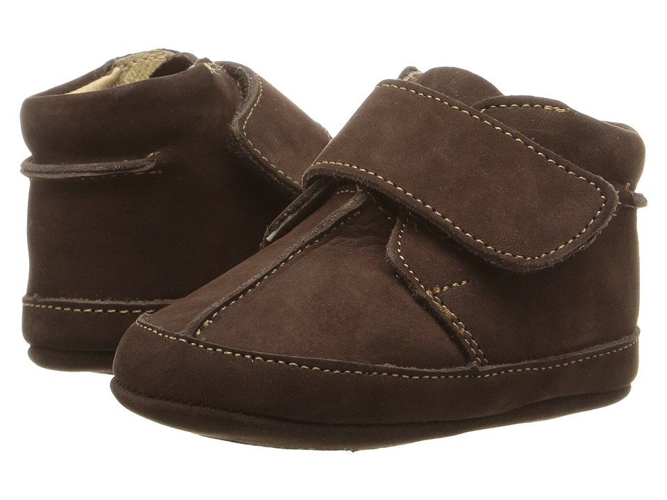 Kid Express - Tommie (Infant/Toddler) (Dark Brown Nubuck) Boy's Shoes