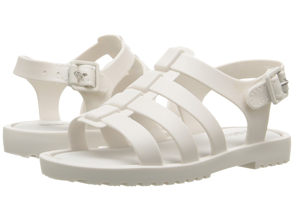 Mini Melissa - Flox (Toddler) (White) Girls Shoes