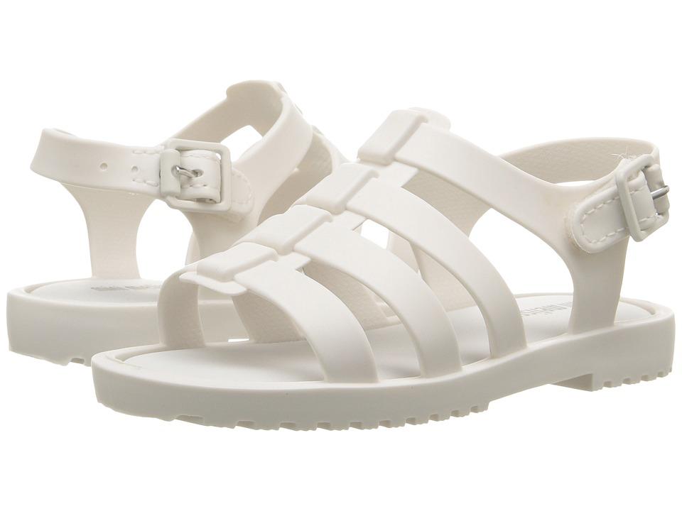 Mini Melissa - Flox (Toddler) (White) Girls Shoes