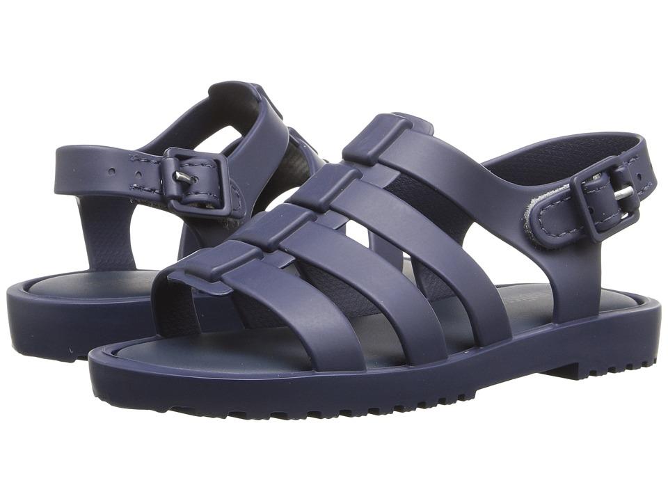 Mini Melissa - Flox (Toddler) (Navy) Girls Shoes