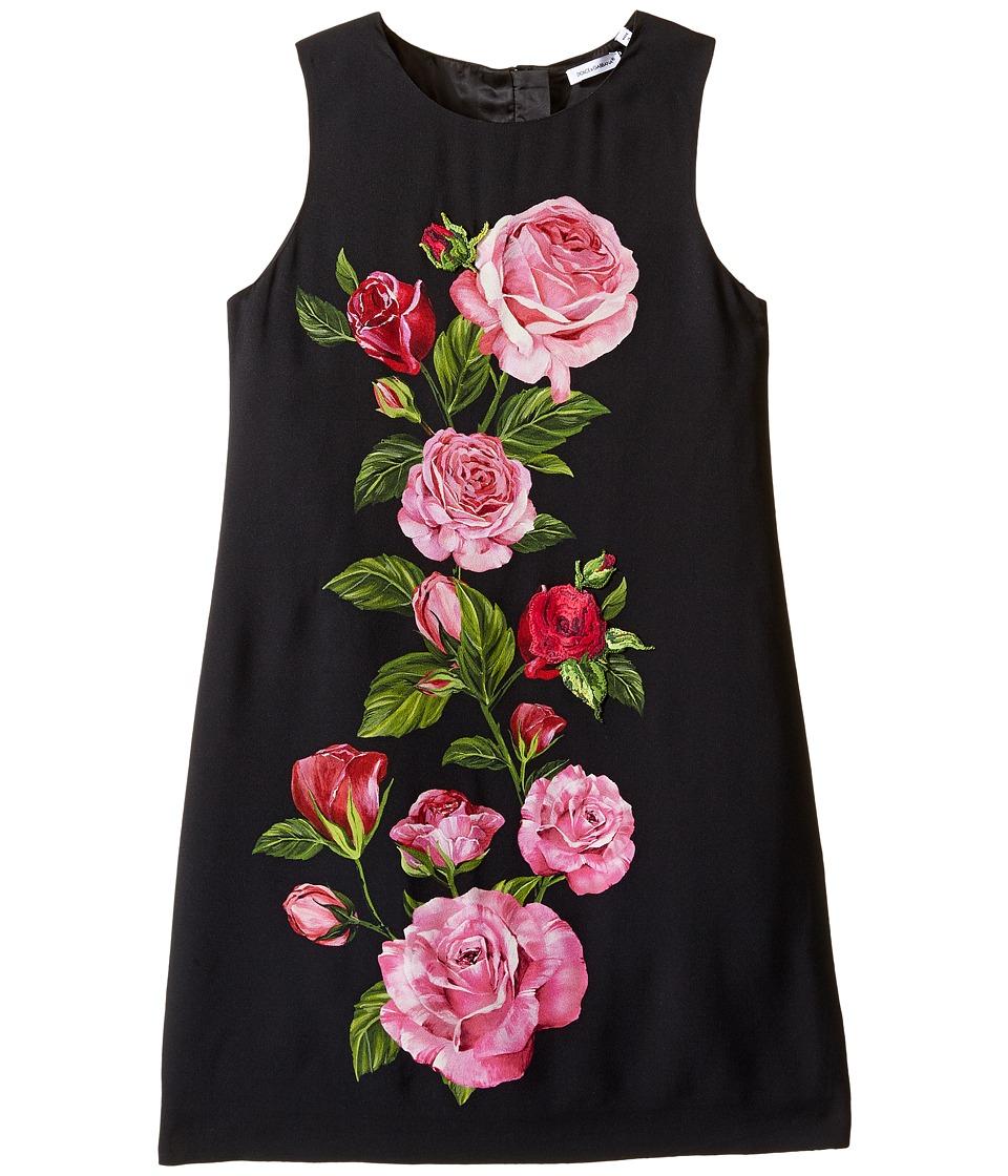 Dolce & Gabbana Kids Rose Cadi Sleeveless Dress
