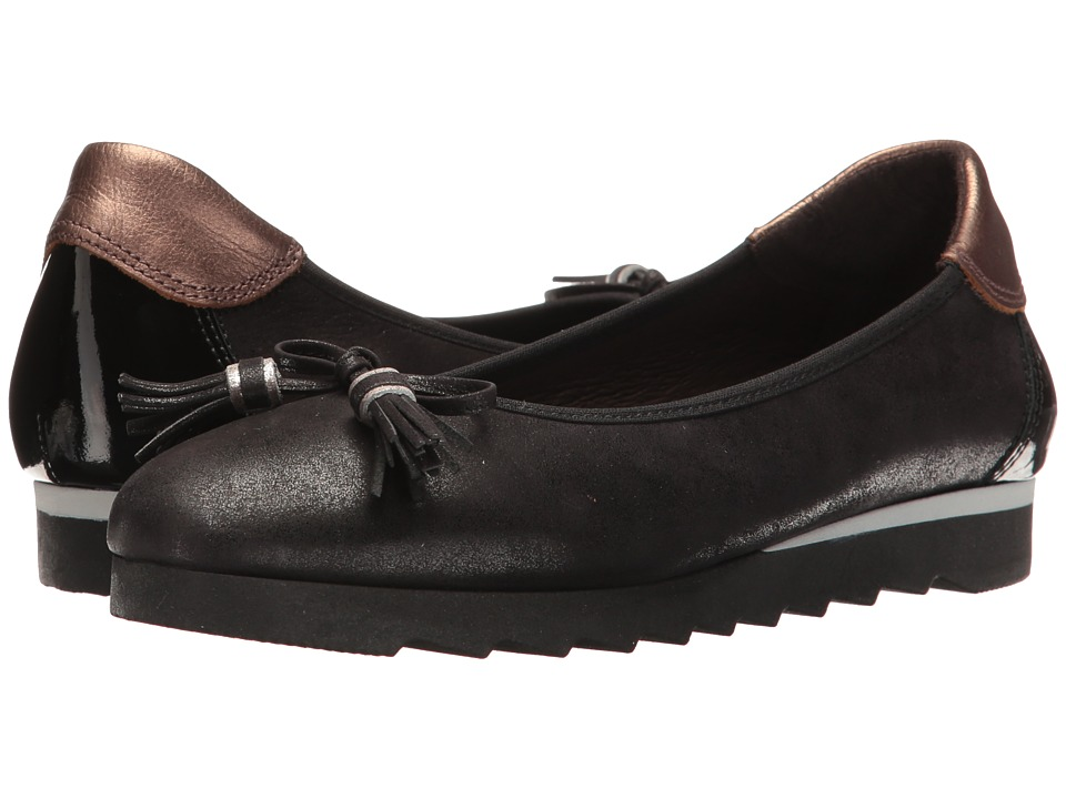 Hispanitas - Honor (Magic Black) Women's Flat Shoes