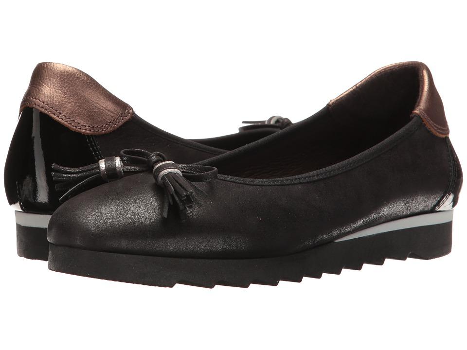 Hispanitas - Honor (Magic Black) Women's Flat Shoes