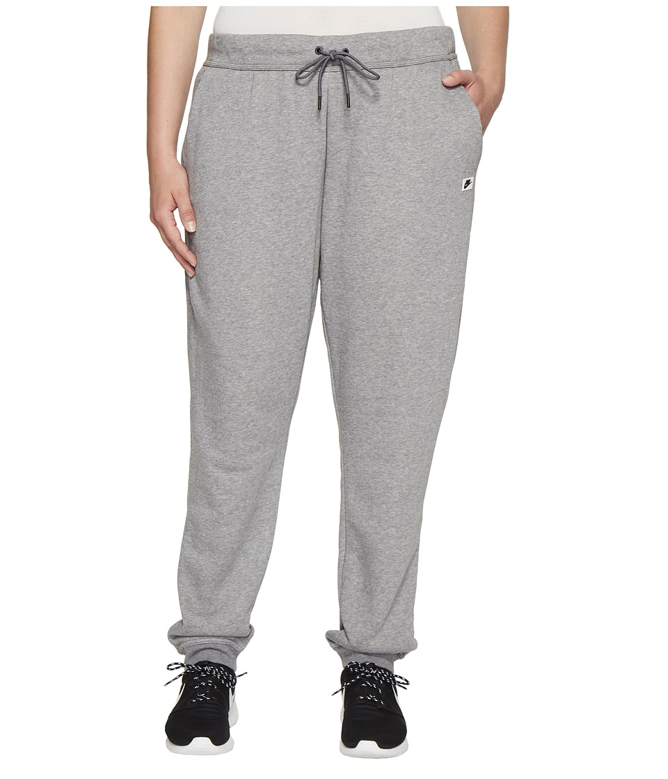Nike - Sportswear Modern Pant (Size 1X-3X) (Carbon Heather/Dark Grey) Women's Casual Pants
