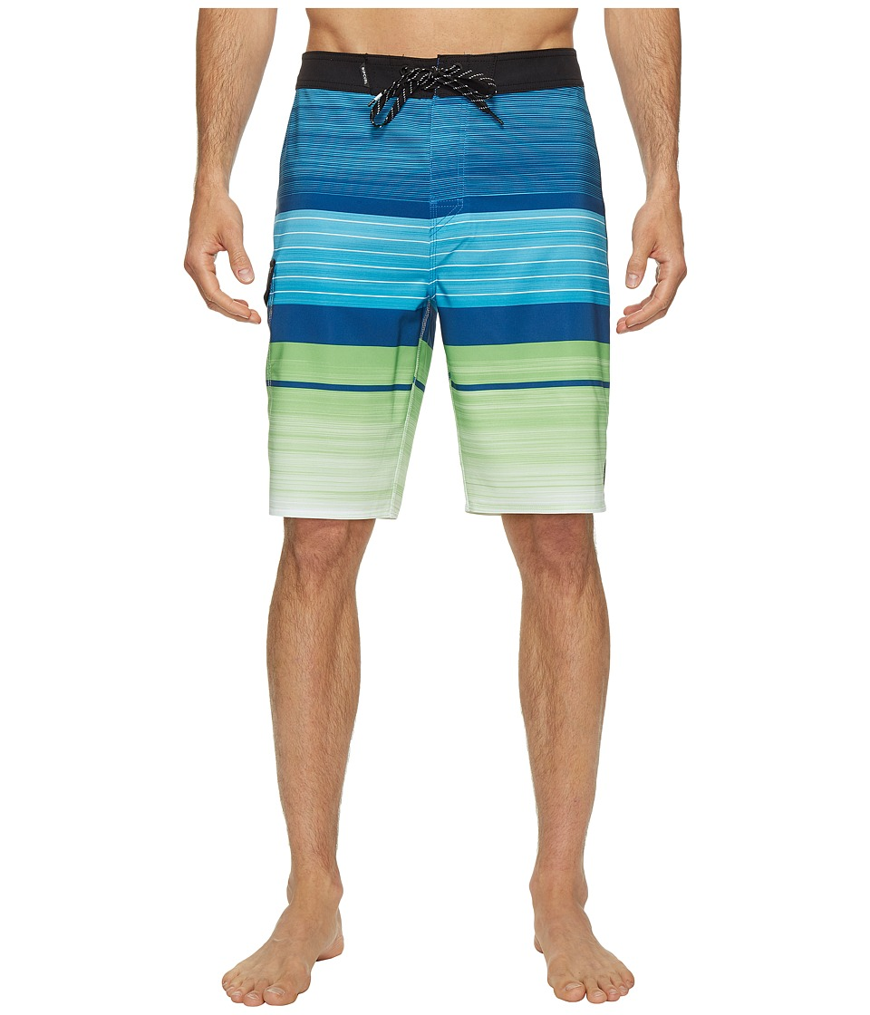 Rip Curl - Mirage Overthrow (Blue) Men's Swimwear