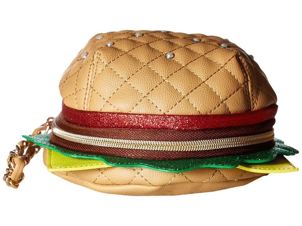 Betsey Johnson - Nice Buns Wristlet (Multi) Wristlet Handbags