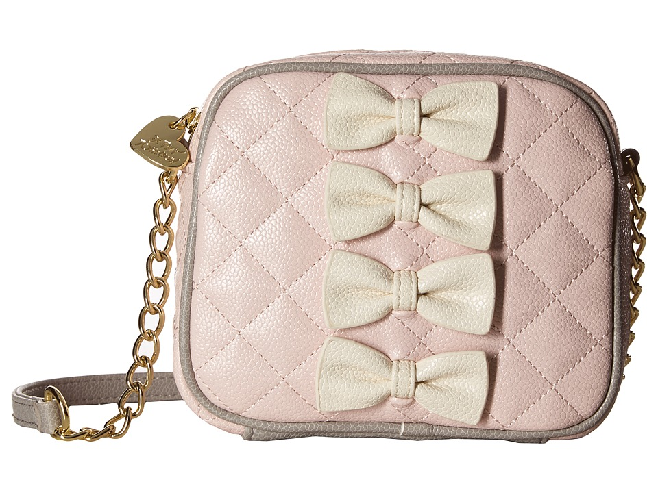 Betsey Johnson - Petite Chic Camera Bag (Pink) Bags