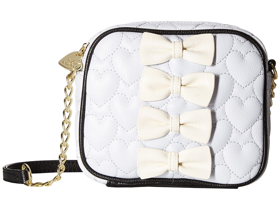 Betsey Johnson - Petite Chic Camera Bag (Blue) Bags