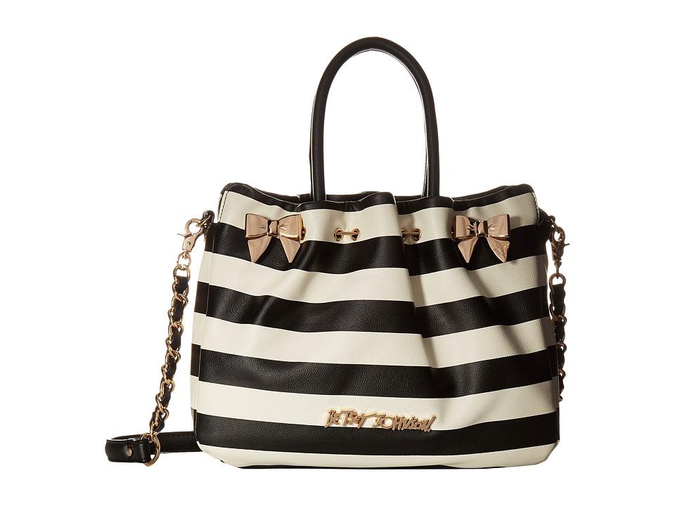 Betsey Johnson - In a Pinch Satchel (Stripe) Satchel Handbags