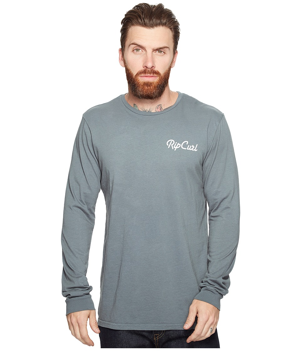 Rip Curl - Quantum Heritage Long Sleeve (Teal) Men's Long Sleeve Pullover