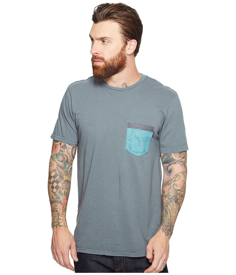 Rip Curl - Staple Pocket Custom Tee (Teal) Men's T Shirt
