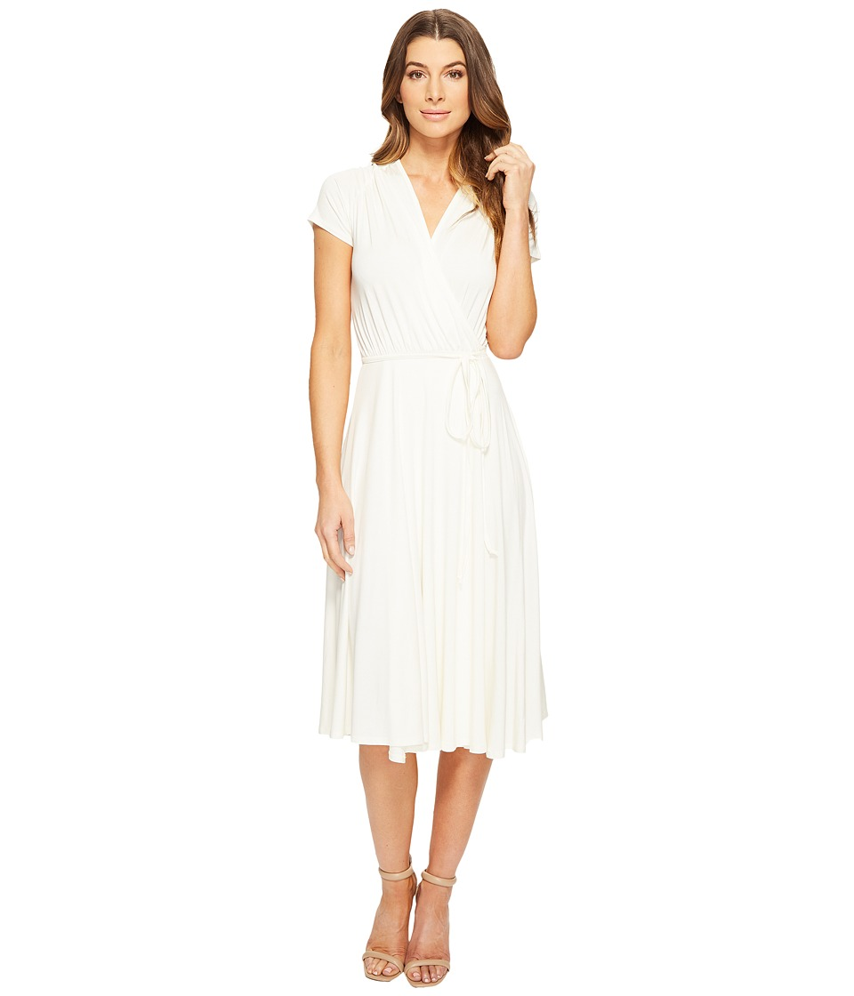 Rachel Pally - Short Sleeved Cookie Dress (White) Women's Dress