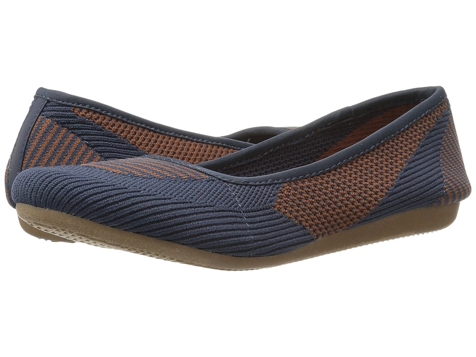 Steven - Natural Comfort - Beck (Navy Multi) Women's Flat Shoes