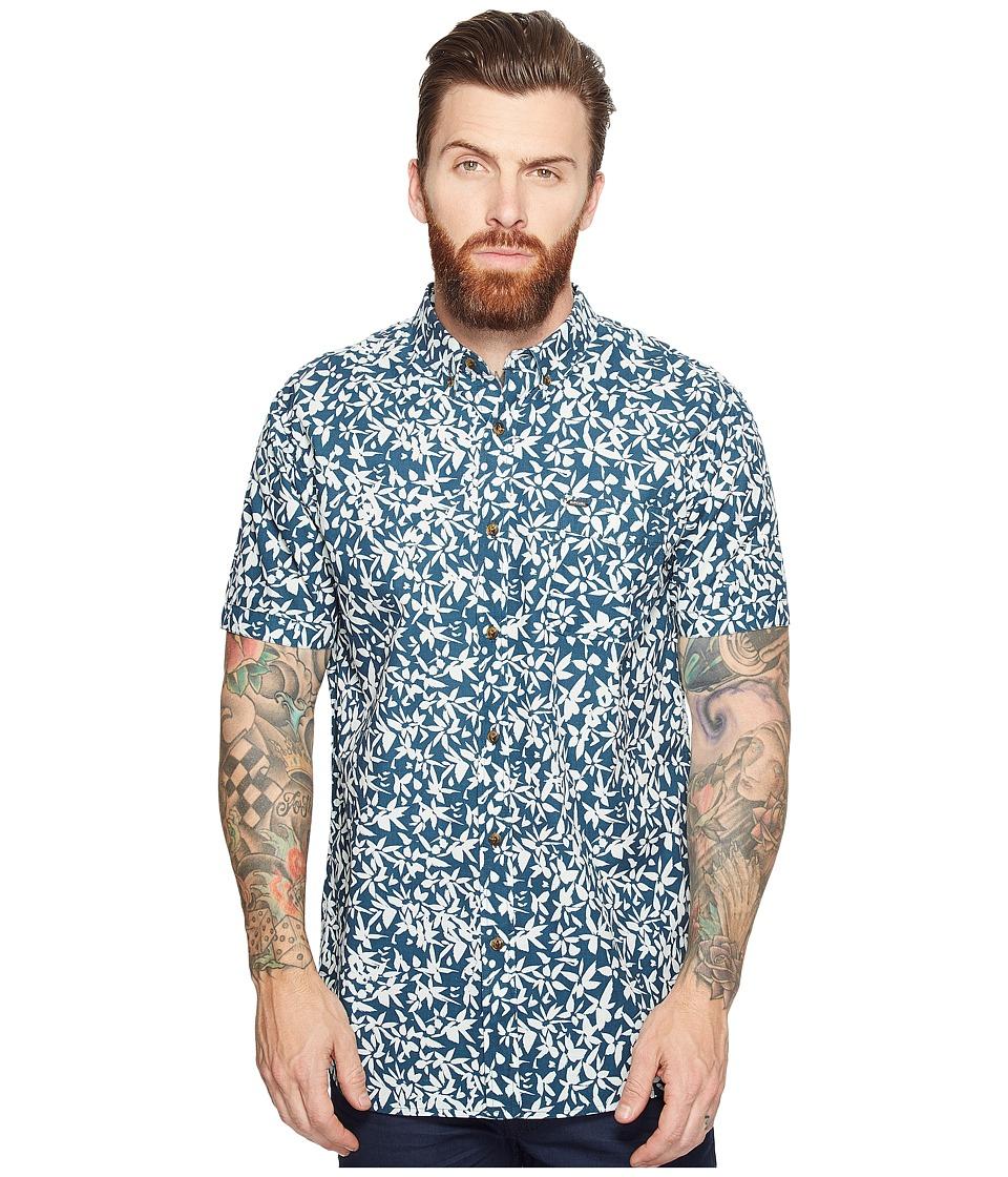 Rip Curl - Tropix Short Sleeve Shirt (Aqua) Men's Short Sleeve Pullover