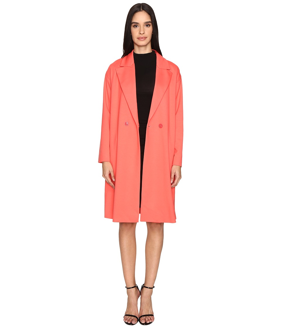 Boutique Moschino - Boyfriend Coat (Pink) Women's Coat
