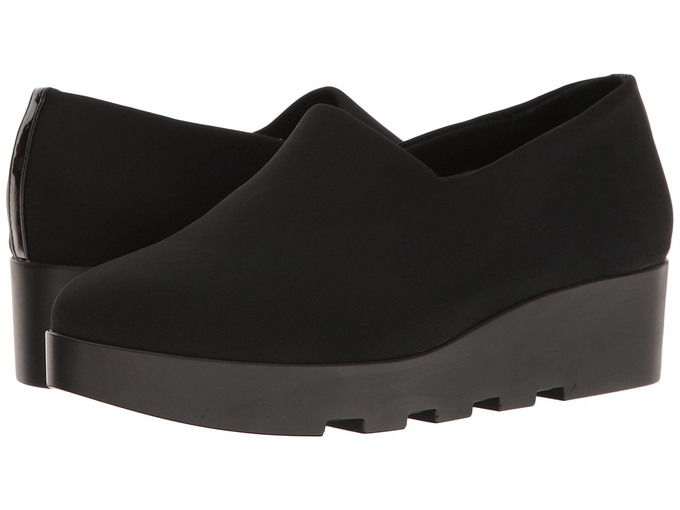Steven - Natural Comfort - Casey (Black) Women's Wedge Shoes