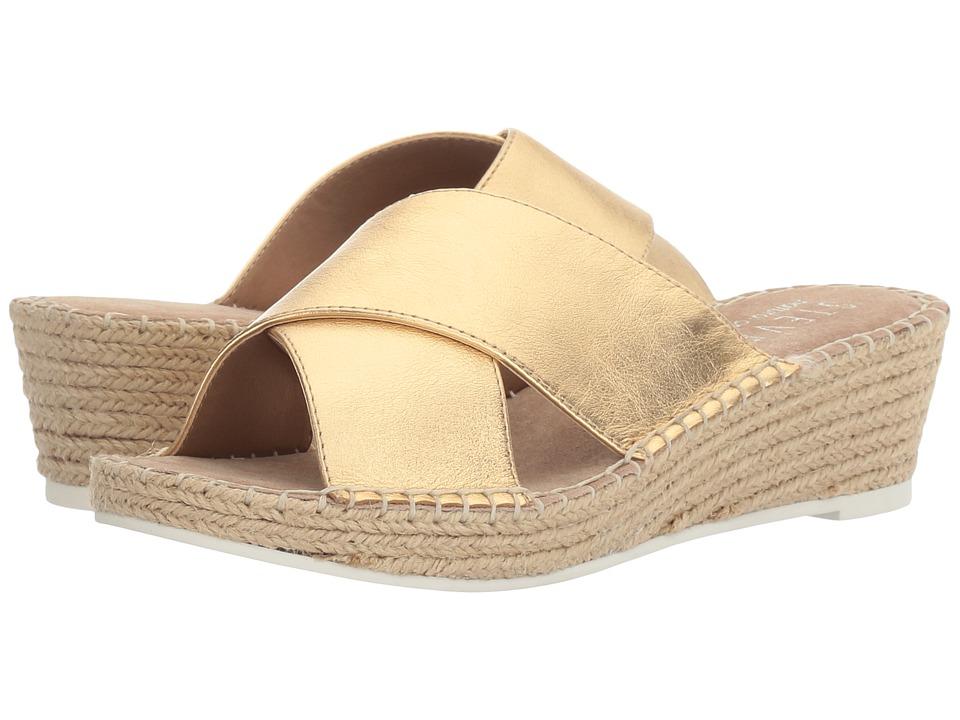 Steven - Natural Comfort - Iva (Gold) Women's Sandals