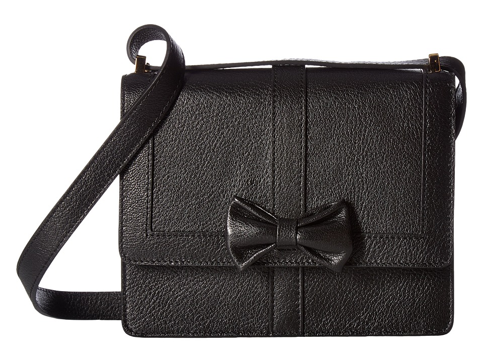 Boutique Moschino - Bow Shoulder Bag (Black) Shoulder Handbags