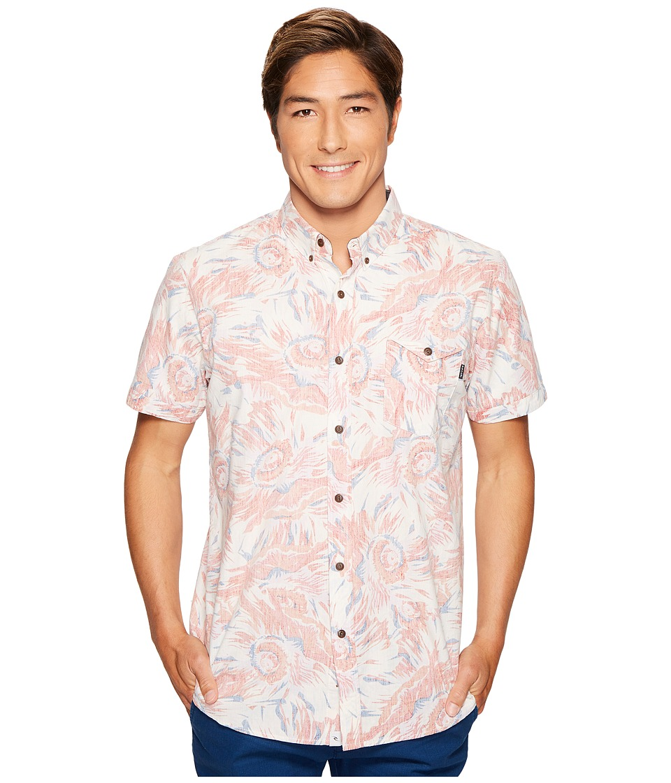 Rip Curl - Sun Glaze Short Sleeve Shirt (Off-White) Men's Short Sleeve Button Up