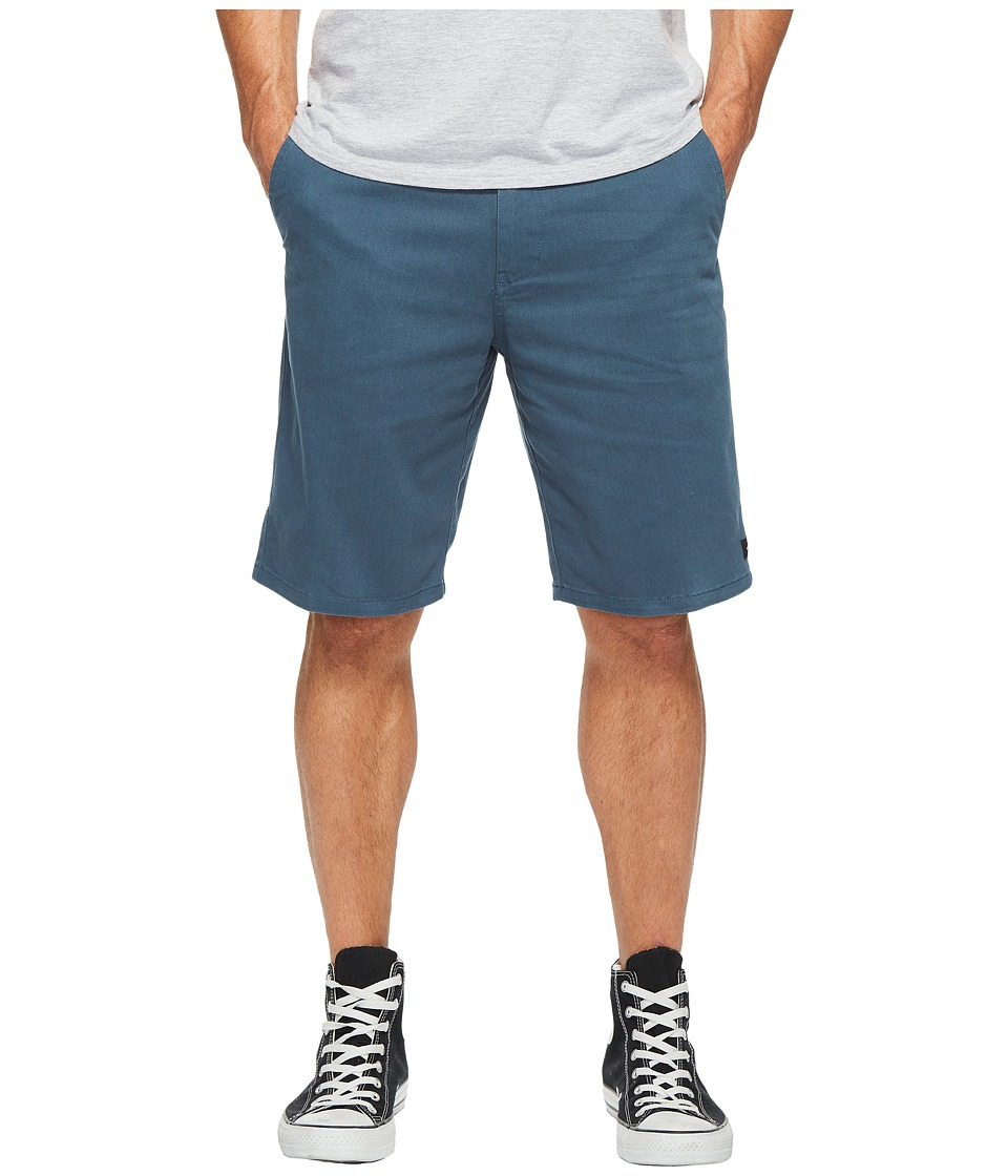 Rip Curl - Epic Stretch Chino Walkshorts (Slate Blue) Men's Shorts