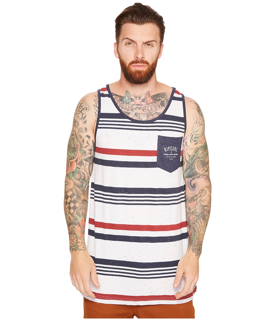 Rip Curl - Easyrider Tank Top (Off-White) Men's Sleeveless