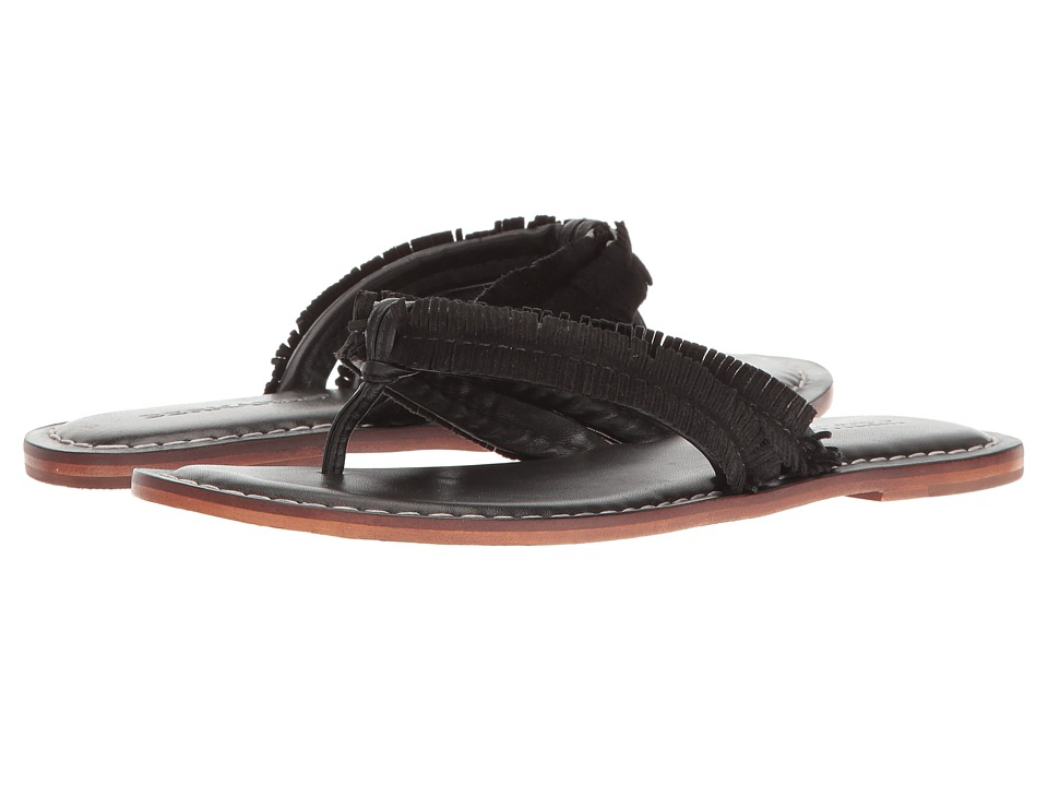 Bernardo - Miami Fringe (Black) Women's Sandals
