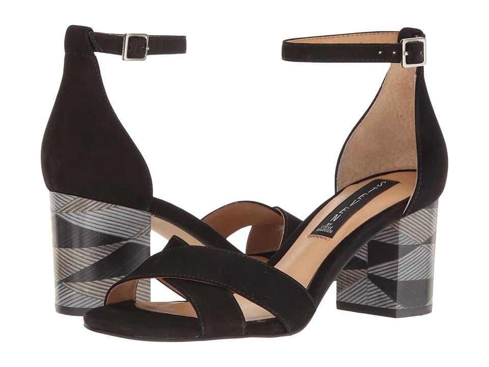 Steven - Voomme-S (Black Nubuck) Women's Shoes