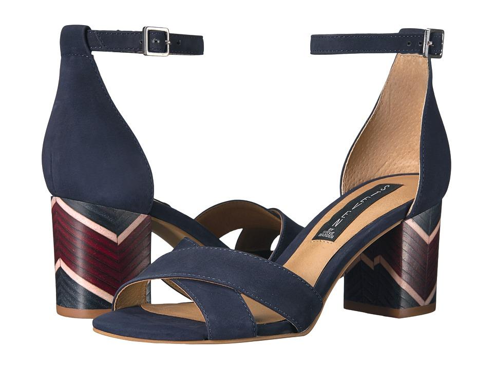 Steven - Voomme-S (Navy Nubuck) Women's Shoes