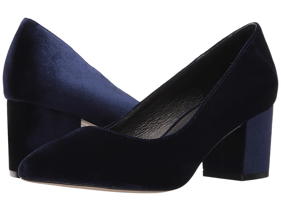 Steven - Bambu (Blue Velvet) Women's Shoes