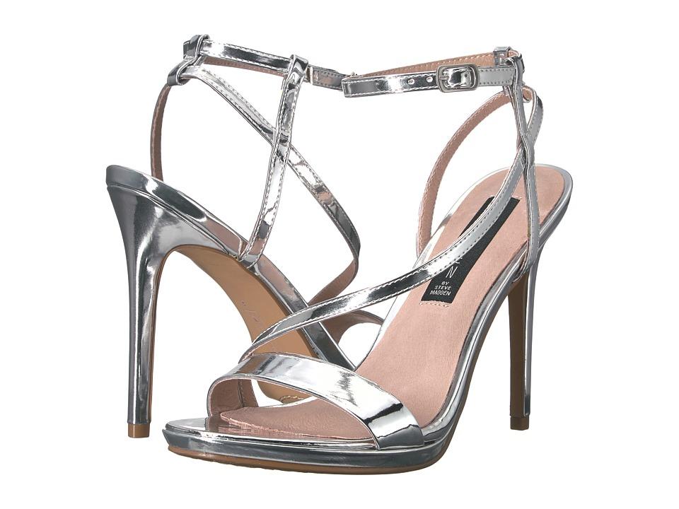 Steven - Rees (Silver Foil) High Heels