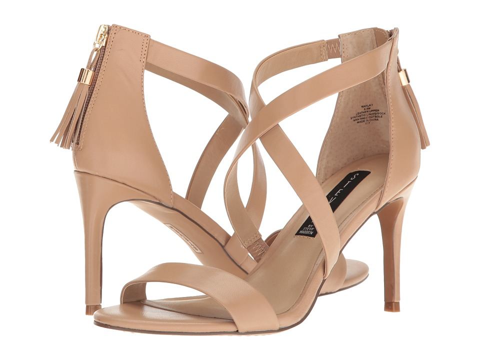 Steven - Nahlah (Natural Leather) High Heels
