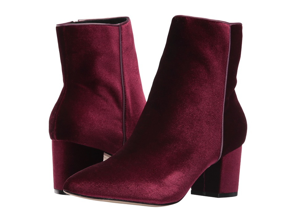 Steven - Bollie (Burgundy Velvet) Women's Shoes