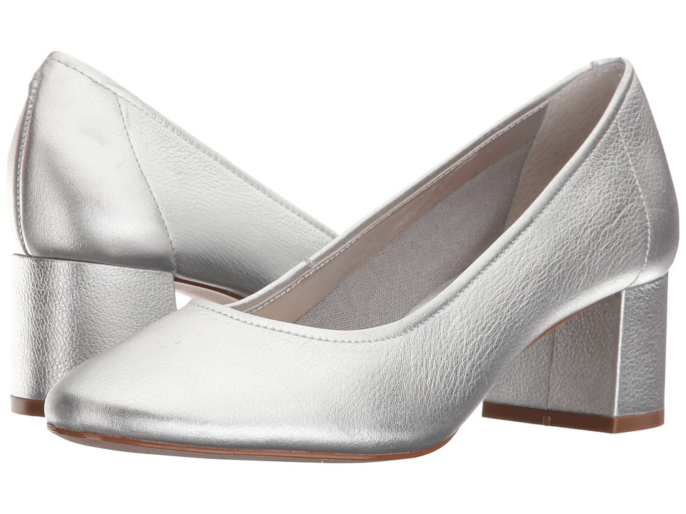 Steven - Tour (Silver Leather) Women's Shoes