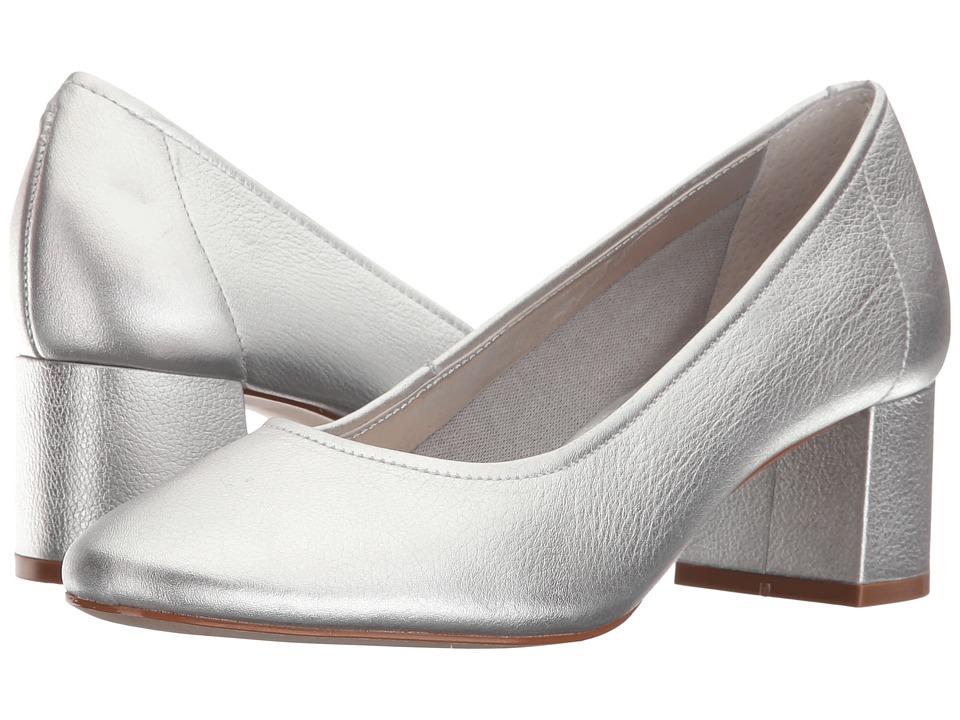 Steven - Tour (Silver Leather) Women's Shoes