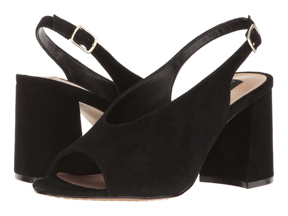 Steven Futures (Black Suede) Women
