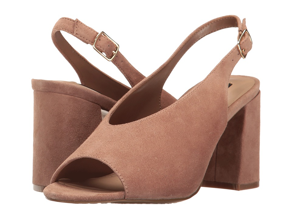 Steven - Futures (Blush Suede) Women's Shoes