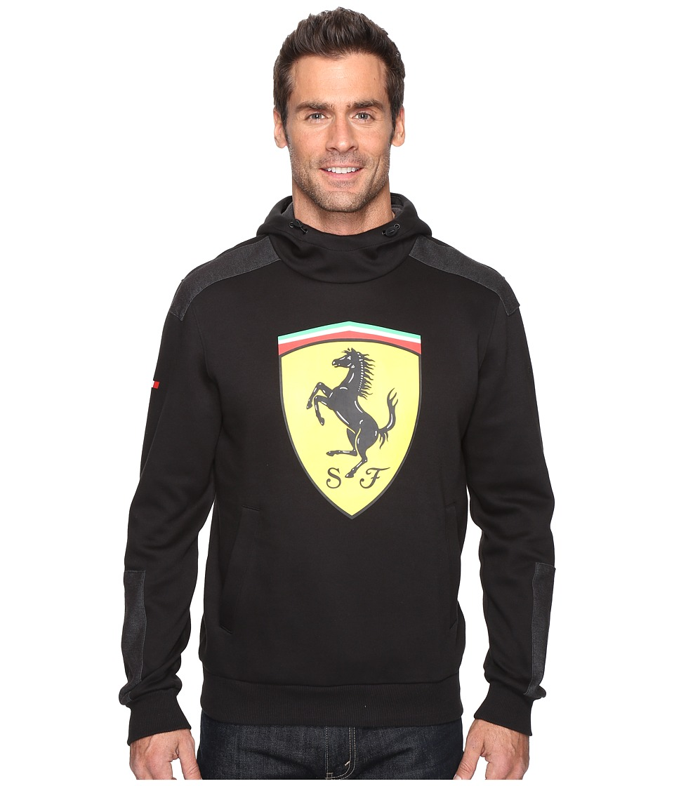 PUMA - SF Big Shield Hoodie (PUMA Black) Men's Sweatshirt