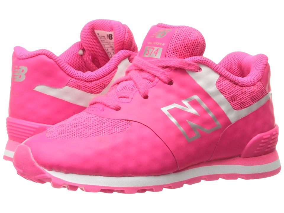 New Balance Kids - 574 Breathe (Infant/Toddler) (Pink/Grey) Girls Shoes