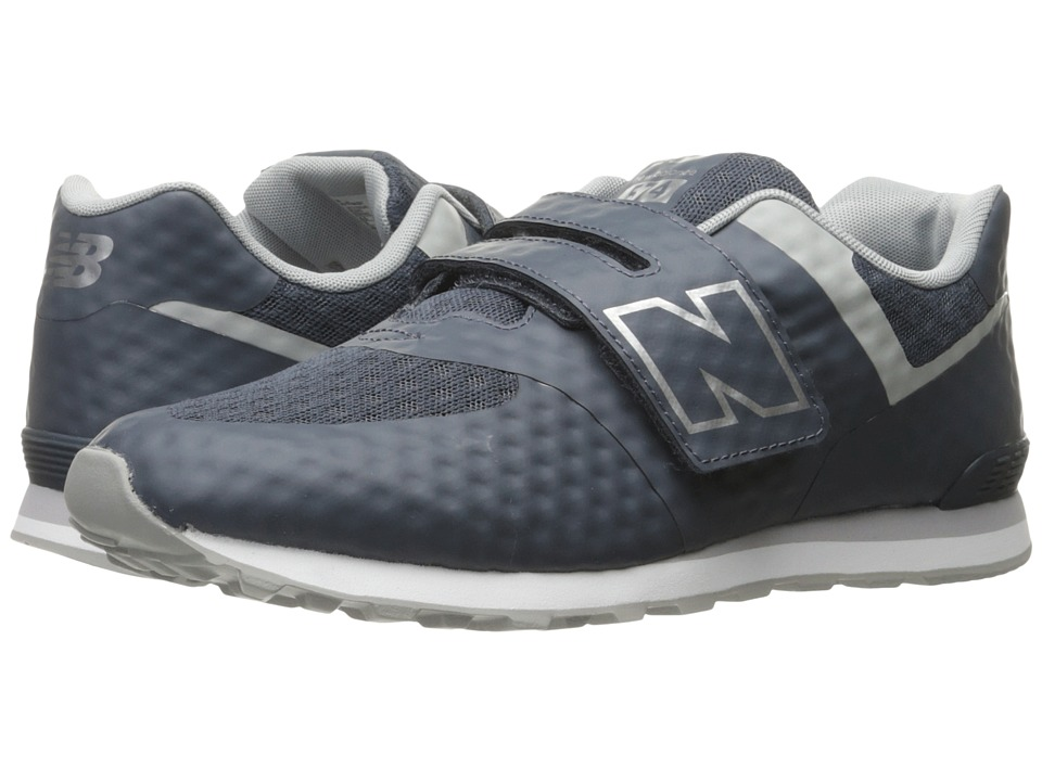 New Balance Kids 574 Breathe HL (Little Kid/Big Kid) (Grey/Grey) Boys Shoes