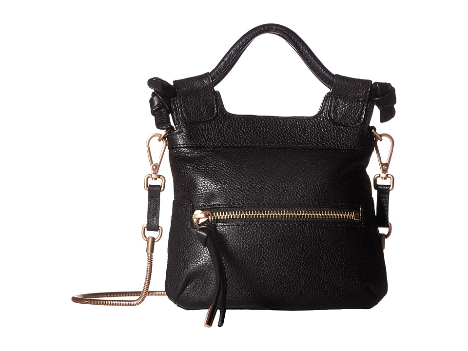Foley & Corinna - City Tiny Crossbody (Black) Cross Body Handbags