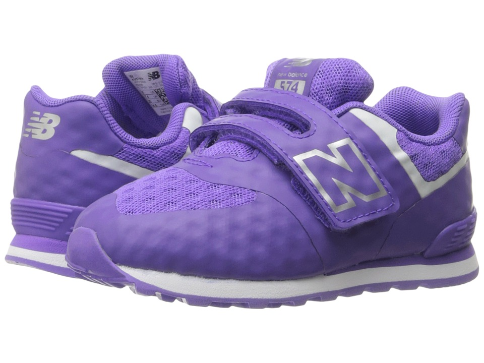 New Balance Kids 574 Breathe HL (Infant/Toddler) (Purple/Grey) Girls Shoes